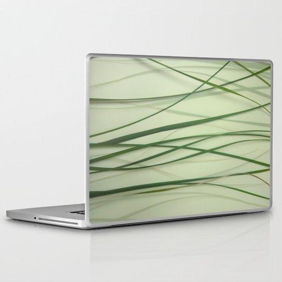 Grass Abstract Laptop & iPad Skin