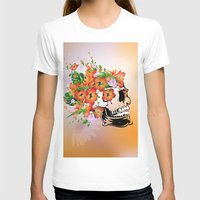 sugar skull T-shirts featuring Sugar skull by nicky2342