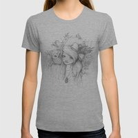 These Seasons Will Chang… Womens Fitted Tee Athletic Grey SMALL