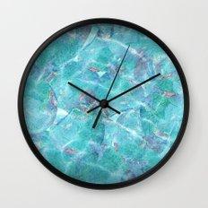 Fresh Blue Wall Clock