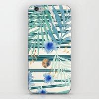 SUMMERTIME STRIPES iPhone & iPod Skin