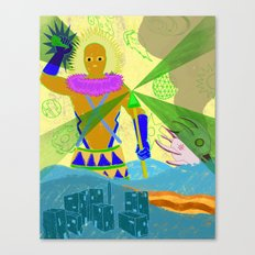 ANCIENT ALIENS  Canvas Print