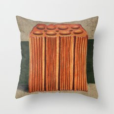 Brazilian's Brick Throw Pillow