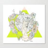 Für Owl  Canvas Print
