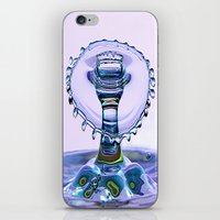 Water Crown iPhone & iPod Skin