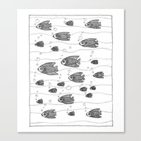Similarity (underwater, … Canvas Print