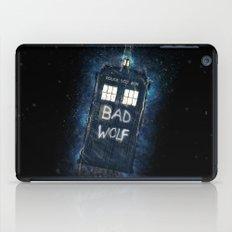 Bad Wolf TARDIS iPad Case
