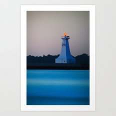 Lighthouse IIII Art Print