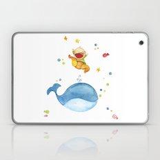 Baby whale Laptop & iPad Skin