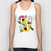 Love in Flowers Unisex Tank Top