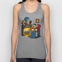 A Quiet Evening At Home Unisex Tank Top