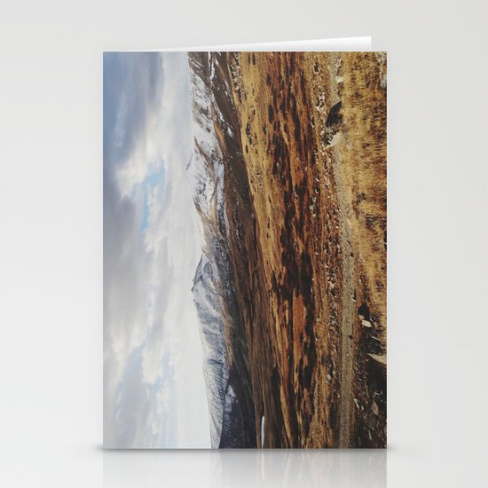 Mosquito Pass Rocky Mountains Stationery Card