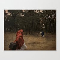 Flee Canvas Print