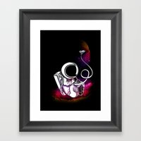 Spaceborne! Framed Art Print