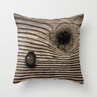 Notch Throw Pillow