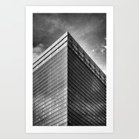 High Structure Art Print