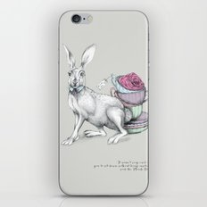 Tea with Hatter iPhone & iPod Skin