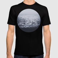 Out to Sea SMALL Mens Fitted Tee Black