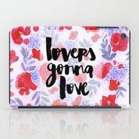 Lovers [Collaboration with Jacqueline Maldonado] iPad Case