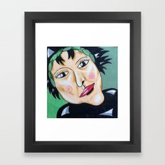 a classic witch Framed Art Print