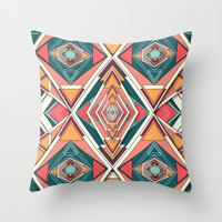 Try Me Throw Pillow