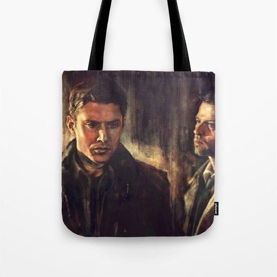 I Walk Beside You Tote Bag