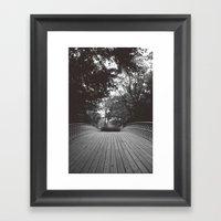 B R I D G E {I} Framed Art Print