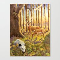 Forest Scene Canvas Print