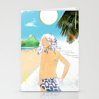 Garota De Ipanema Stationery Cards