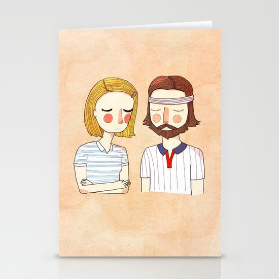 Secretly In Love Stationery Card