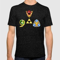 The Timeless Legend Of Z… Mens Fitted Tee Tri-Black SMALL