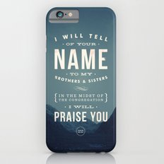 I will tell of your name Slim Case iPhone 6s