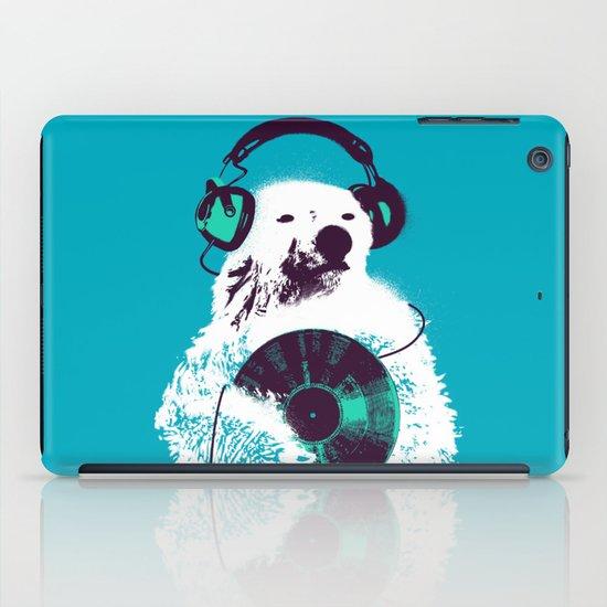 Record Bear iPad Case