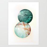 Colorado Balls Art Print
