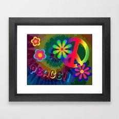 Peace !!! Framed Art Print