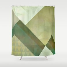 Mountain Scape Shower Curtain