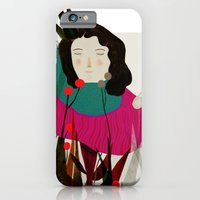iPhone & iPod Case featuring flowering by Daniela Tieni