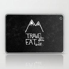 Travel often, eat well Laptop & iPad Skin