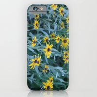 iPhone & iPod Case featuring Flower Field by Kimberly Sulzer-Girlwithafrogtattoo