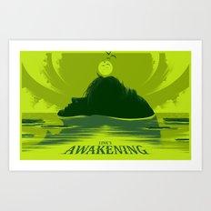 Link's Awakening (Open Edition) Art Print