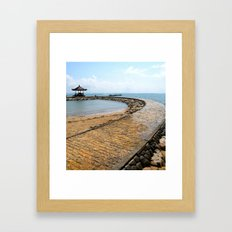 Rocky Path Framed Art Print