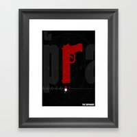 The Sopranos Poster Framed Art Print