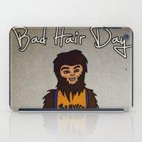 bad hair day no:2 / Teen Wolf iPad Case