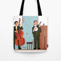 String Duo Tote Bag