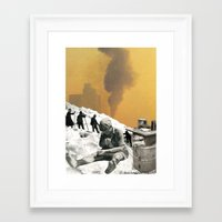 An Industrial Vice Framed Art Print