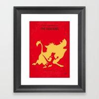 No512 My The Lion King M… Framed Art Print