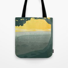 Ba Sing Se Travel Poster Tote Bag