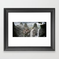 Forgotten City Framed Art Print