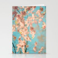 Dance Of The Cherry Blos… Stationery Cards