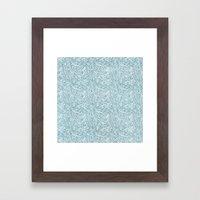 lighting pattern Framed Art Print